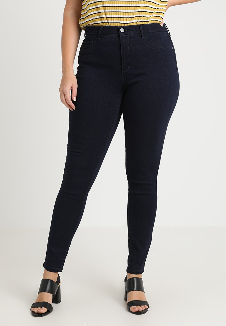 ONLY Carmakoma - CARSTORM - Jeans Skinny Fit - dark blue denim