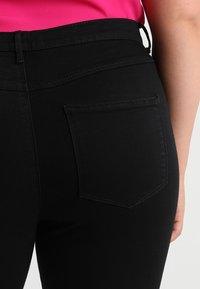 ONLY Carmakoma - CARSTORM - Skinny džíny - black - 3