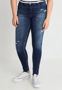 ONLY Carmakoma - CARMA REG JOG - Jeans Skinny - medium blue denim - 0