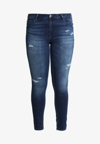 ONLY Carmakoma - CARMA REG JOG - Jeans Skinny - medium blue denim - 4