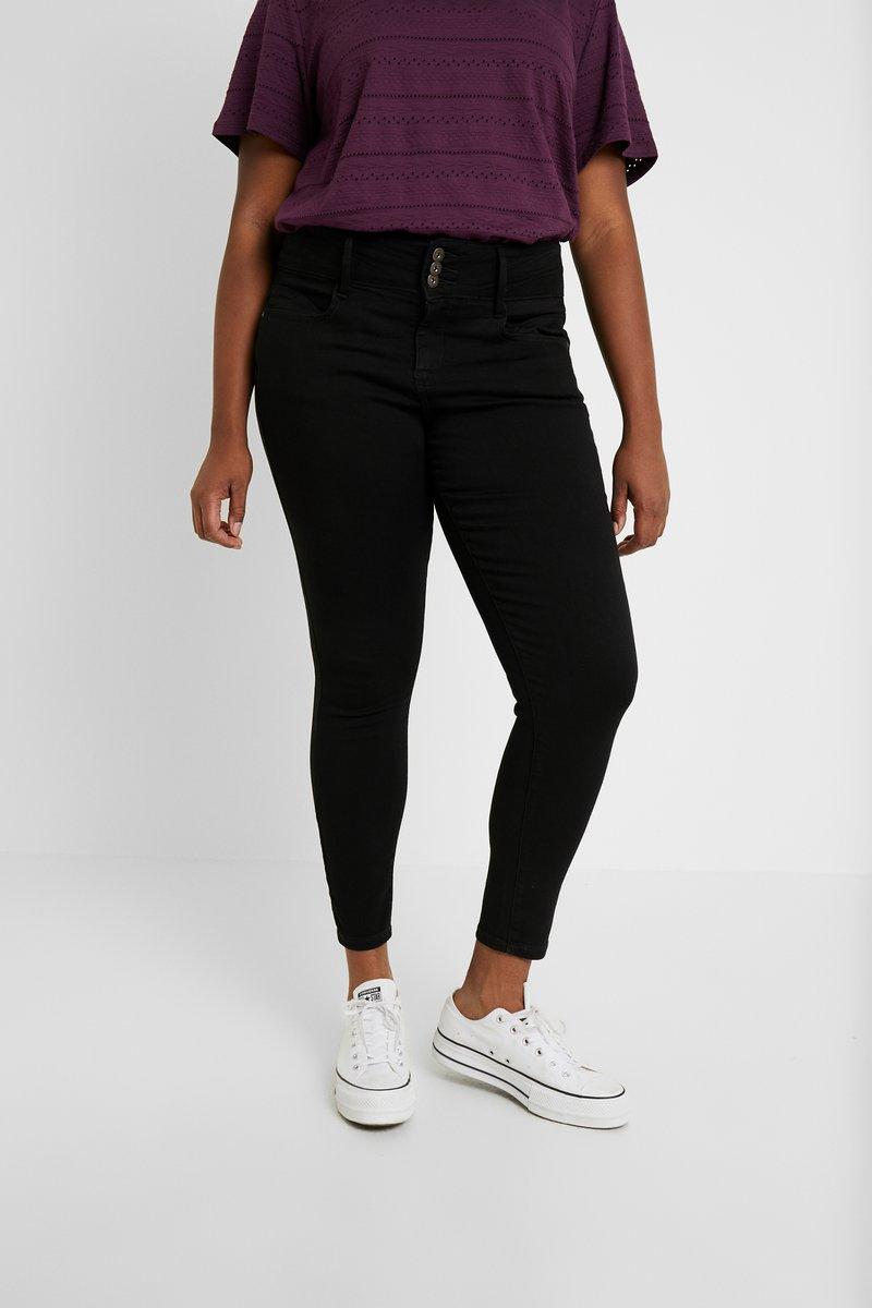 ONLY Carmakoma - Jeans Slim Fit - black
