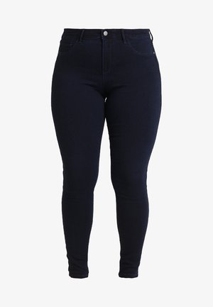 CARTHUNDER PUSH UP - Jeansy Skinny Fit - dark blue denim