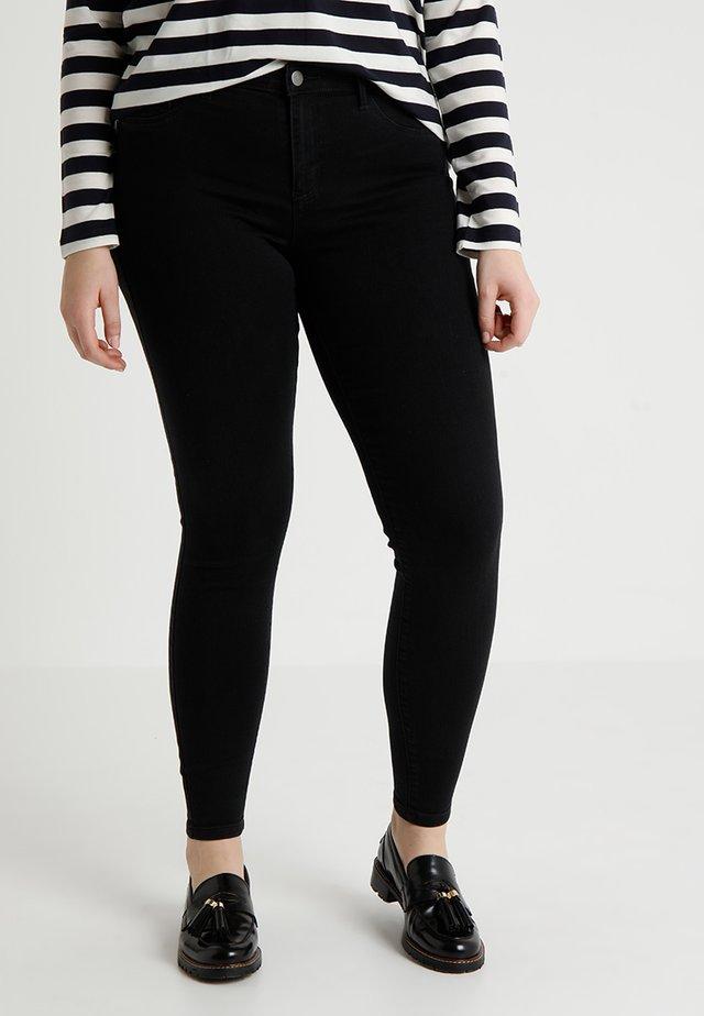 CARTHUNDER PUSH UP - Jeans Skinny Fit - black