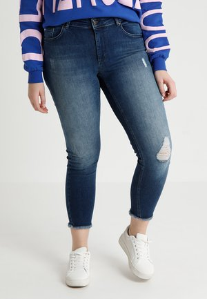 CARWILLY - Jeans Skinny Fit - medium blue denim