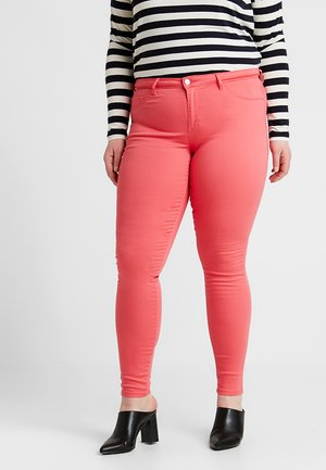 CARTHUNDER PUSH-UP - Jeans Skinny Fit - calypso coral