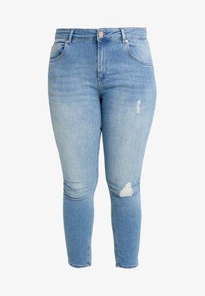 CARWILLY - Jeans Skinny Fit - light blue denim