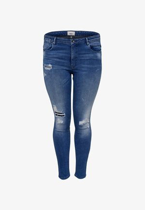 CURVY   - Jeans Skinny Fit - medium blue denim