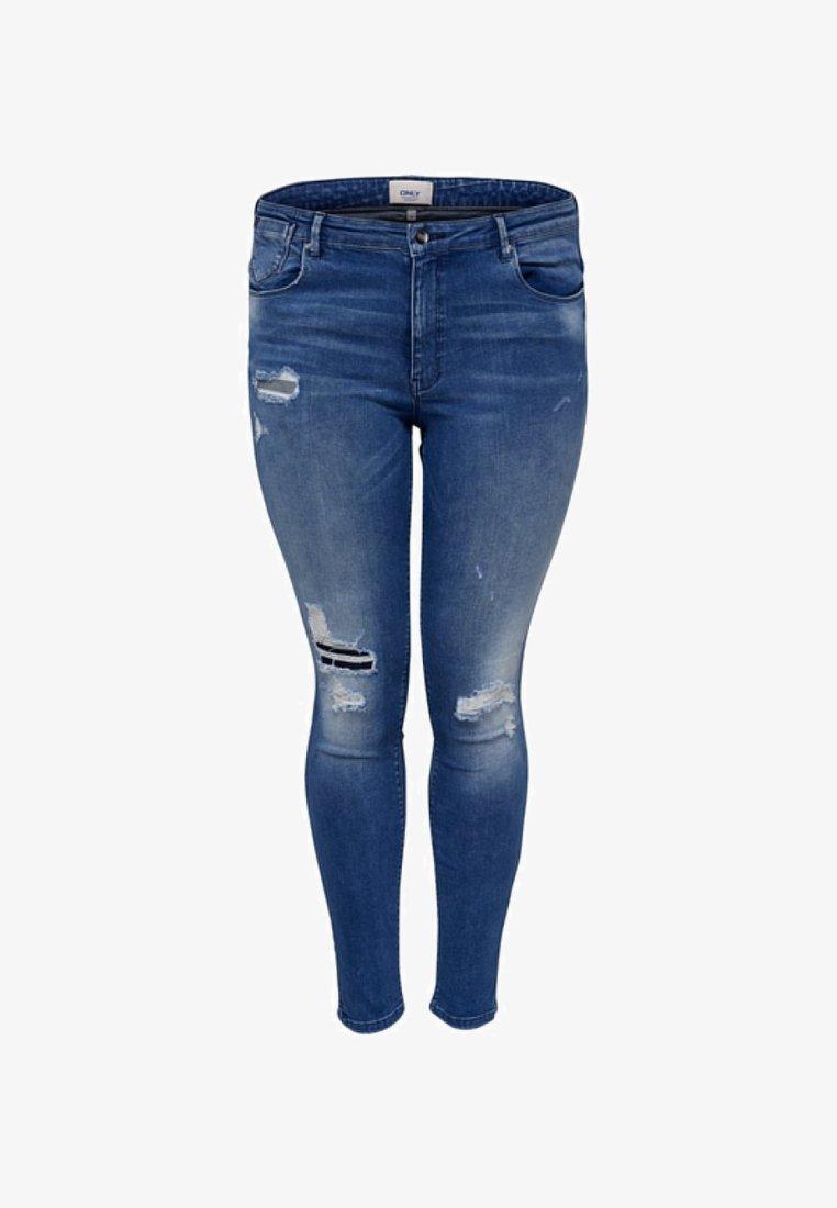 ONLY Carmakoma - CURVY   - Jeans Skinny Fit - medium blue denim