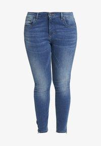 ONLY Carmakoma - CARKARLA ANKLE - Jeans Skinny Fit - medium blue denim - 3