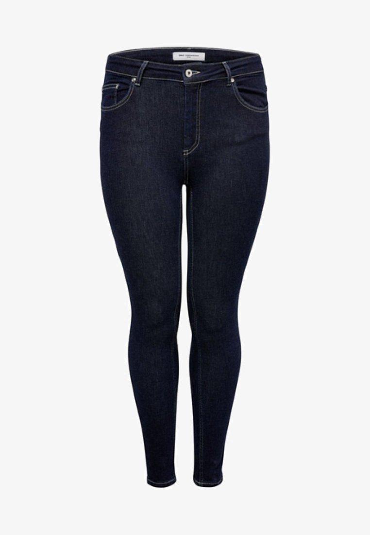 ONLY Carmakoma - Skinny džíny - dark blue denim