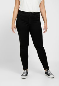 ONLY Carmakoma - CARAUGUSTA  - Jeans Skinny Fit - black - 0