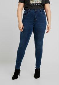 ONLY Carmakoma - Jeans Skinny Fit - medium blue denim - 0
