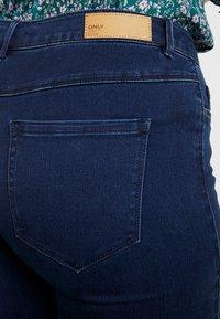 ONLY Carmakoma - CARAUGUSTA - Straight leg jeans - dark blue denim - 5
