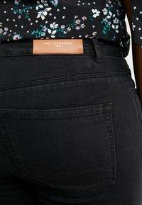 ONLY Carmakoma - CARRINA - Jeans Skinny Fit - black - 3