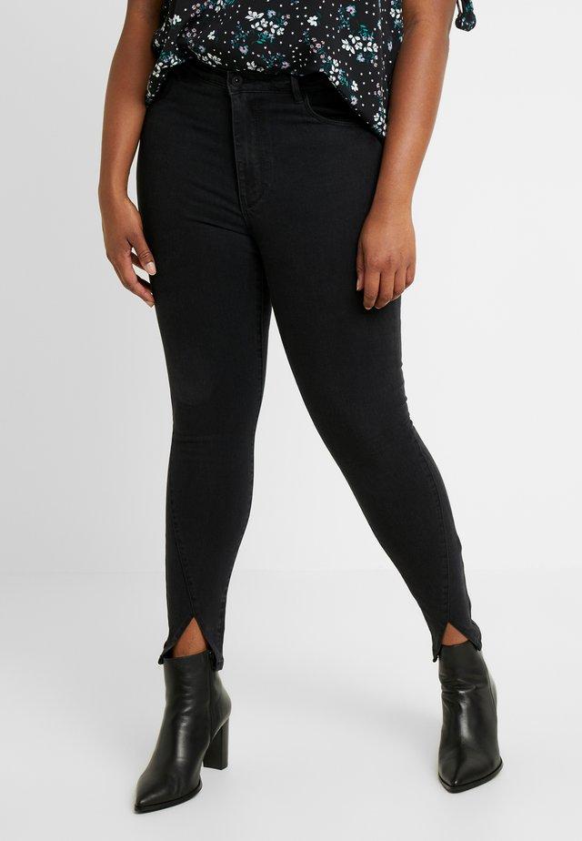 CARRINA - Jeansy Skinny Fit - black