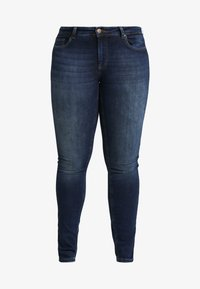 ONLY Carmakoma - CARWILLY - Jeans Skinny Fit - dark blue denim - 3