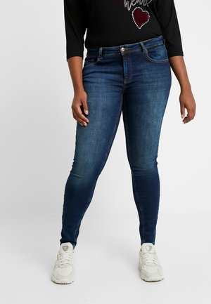 CARWILLY - Jeans Skinny - dark blue denim