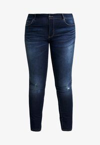 ONLY Carmakoma - CARCARMA - Jeans Skinny Fit - dark blue denim - 3