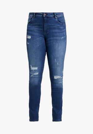CARJACK - Jeans Skinny Fit - dark blue denim