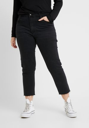 CARMILY - Jeansy Straight Leg - black denim