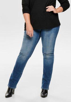 CARWILLY - Jean slim - medium blue denim