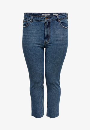 CURVY  - Vaqueros slim fit - dark blue denim