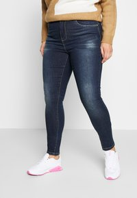 ONLY Carmakoma - CARSTORMY - Jeans Skinny Fit - dark blue denim - 0