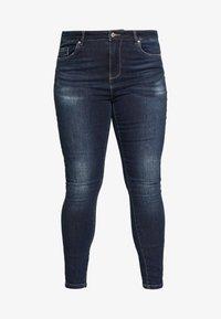 ONLY Carmakoma - CARSTORMY - Jeans Skinny Fit - dark blue denim - 3