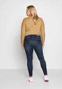 ONLY Carmakoma - CARSTORMY - Jeans Skinny Fit - dark blue denim - 2