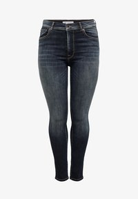 ONLY Carmakoma - SHAPE UP - Jeans Skinny - dark blue denim - 4