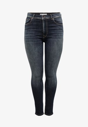 SHAPE UP - Jeans Skinny Fit - dark blue denim