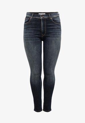 SHAPE UP - Skinny džíny - dark blue denim
