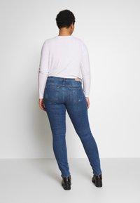 ONLY Carmakoma - CARCARMA REGULAR SLIM  - Jeans slim fit - medium blue denim - 2