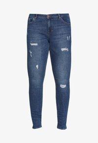 ONLY Carmakoma - CARCARMA REGULAR SLIM  - Jeans slim fit - medium blue denim - 4