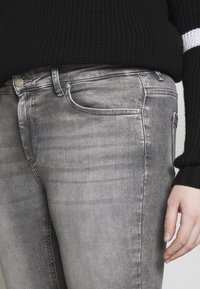 ONLY Carmakoma - CARWILLY - Jeans Skinny Fit - grey denim - 8