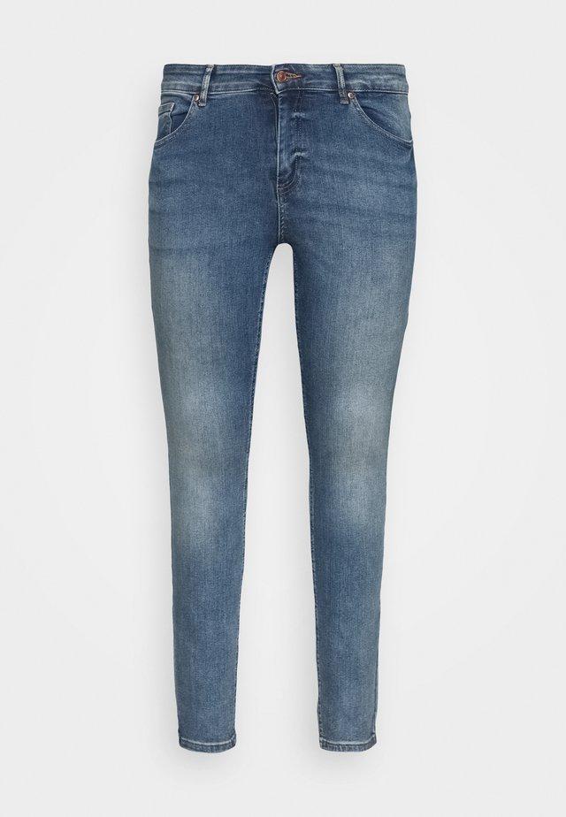 CARWILLY - Jeans Skinny Fit - medium blue denim