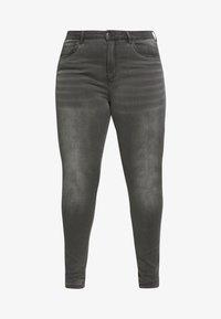 ONLY Carmakoma - CARAUGUSTA LIFE - Jeans Skinny Fit - dark grey denim - 3