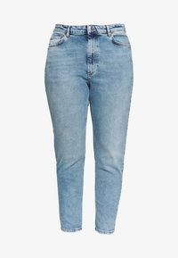 ONLY Carmakoma - CARENEDA LIFE  - Jeans Skinny Fit - light blue denim - 4