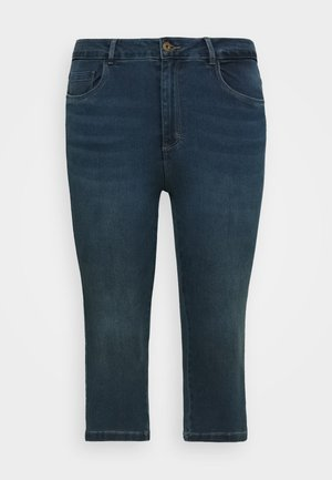 CARAUGUSTA LIFE KNICKERS - Jeans Shorts - medium blue denim