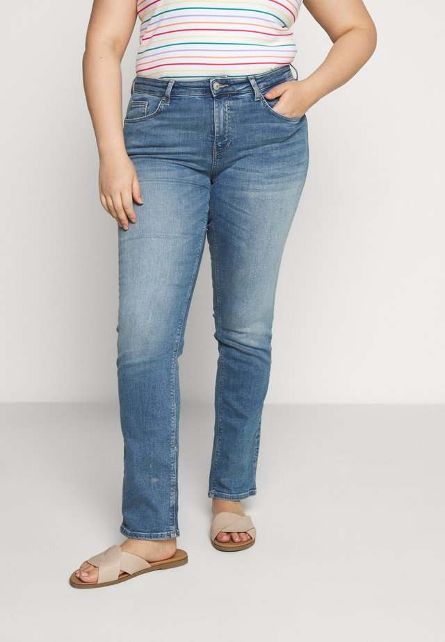 CARVERA - Jeans slim fit - light blue denim