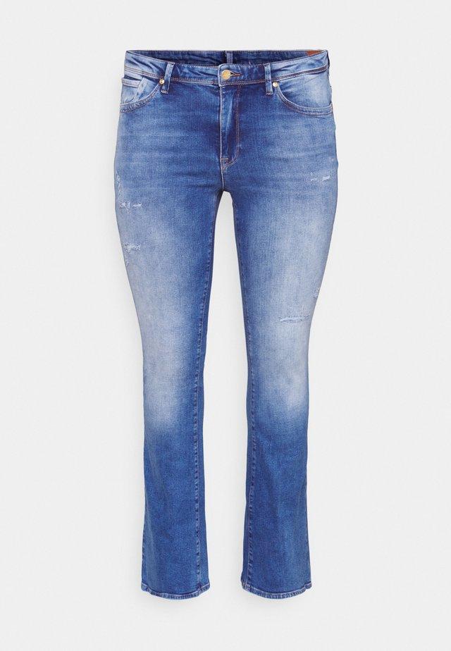 CARBAROLL LIFE - Jeans bootcut - medium blue denim