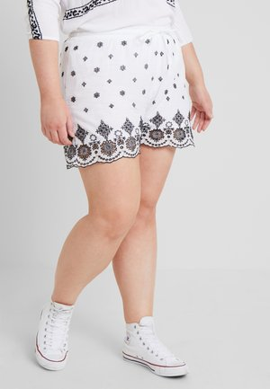 CARLAYLA - Shorts - bright white/black