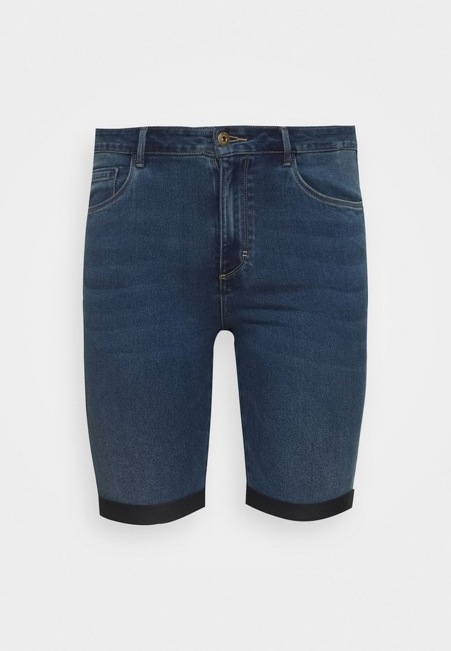 CARAUGUSTA HW SK LONG MBD - Shorts - medium blue denim