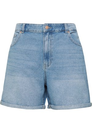 JEANSSHORTS CURVY CARHINE REG - Jeansshorts - light blue denim