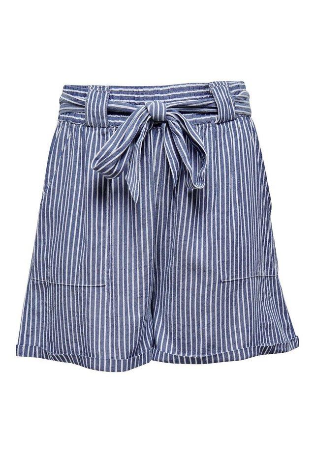 CURVY - Shorts - medium blue denim