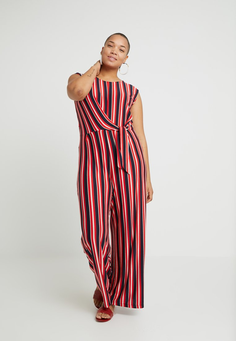 ONLY Carmakoma - CARTYRA STRIPE - Tuta jumpsuit - night sky