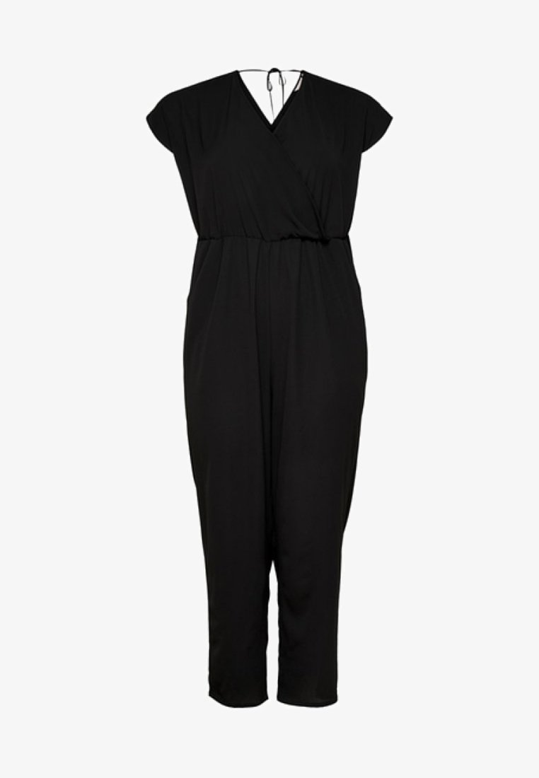 ONLY Carmakoma - Overall / Jumpsuit /Buksedragter - black