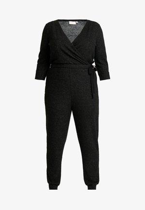 CARFIJI - Jumpsuit - dark grey melange