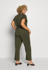 ONLY Carmakoma - CARTANNY - Jumpsuit - forest night - 2