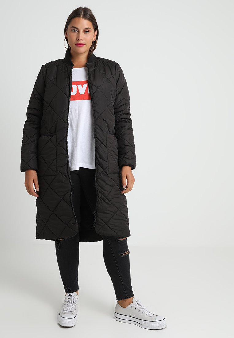 ONLY Carmakoma - Classic coat - black